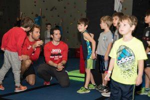 kids classes at ultimate ninjas led by a real american ninja finalist