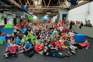 kids pro camp at ultimate ninjas, where kids can train to be ultimate ninja warriors