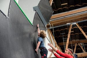 Kids Classes and Kids Birthday Parties with Authentic American Ninja Warrior Obstacles