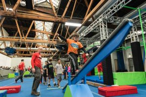 Kids obstacle course training builds confidence and self-esteem