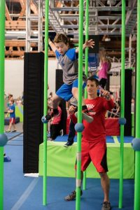 Open play for kids in chicago at ultimate ninjas - large gym area for basketball, soccer, floor hockey and space to kids to run!