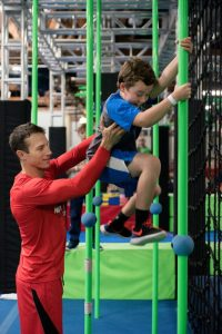 american ninja warrior courses for all ages and abilities at Ultimate Ninjas