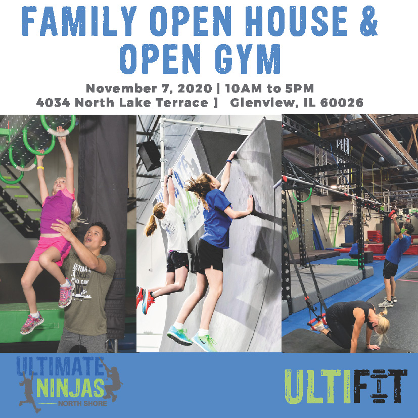 Open House Ultimate Ninjas